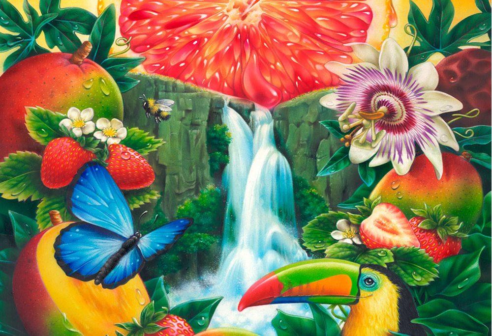 Zinger Waterfall Toucan Jungle